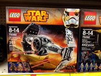 The Star Wars fanatic: $50, LEGO set, Tom's Toys.