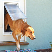Pet partner: Mad money, Edura Flap Pet Doors, petdoors.com.